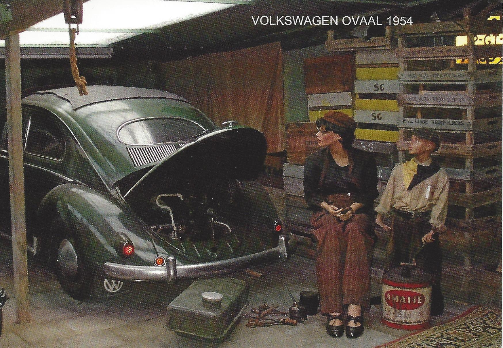 VW OVAAL ANSICHT